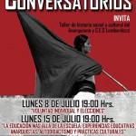 08 de Julio - 15 de Julio | Ciclos de Conversatorios