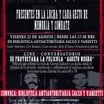 22 de Agosto | A 87 años de la ejecución de Sacco y Vanzetti
