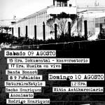 09 - 10 de Agosto | Agitando hacia la Libertad - Jornada Anticarcelaria (PUERTO MONTT)