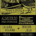 24 de Agosto | Almuerzo pro-fondos 1° Jornadas de Experiencias y Propaganda Anarquicas Comunizadoras de Valparaiso