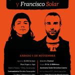 01 de Noviembre | Actividad Solidaria por Mónica Caballero y Francisco Solar.
